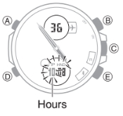 How to set time on Edifice ECB-500 Casio 5427-3