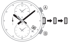 How to set time on Edifice EFR-304 Casio 5468-1