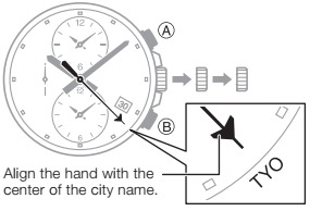 How to set time on Edifice EFR-304 Casio 5468-3