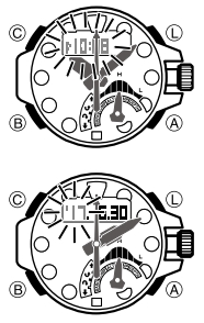 How to set time on G-Shock GWN-Q1000 Casio 5477-3