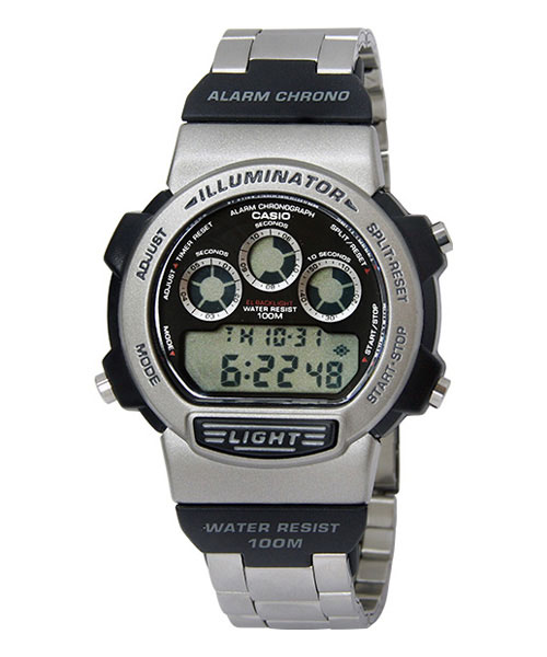 How to set time on Casio W-728 / Casio 1534