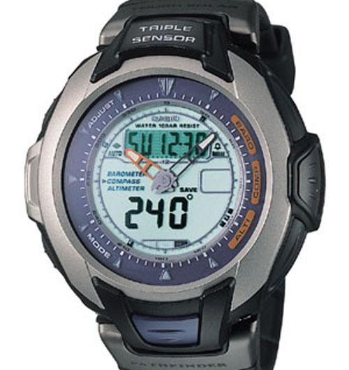 How to set alarm on ProTrek PAG-60 / Casio 2767