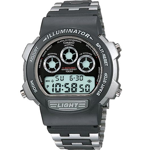 How to set alarm on Casio W-727 / Casio 1534