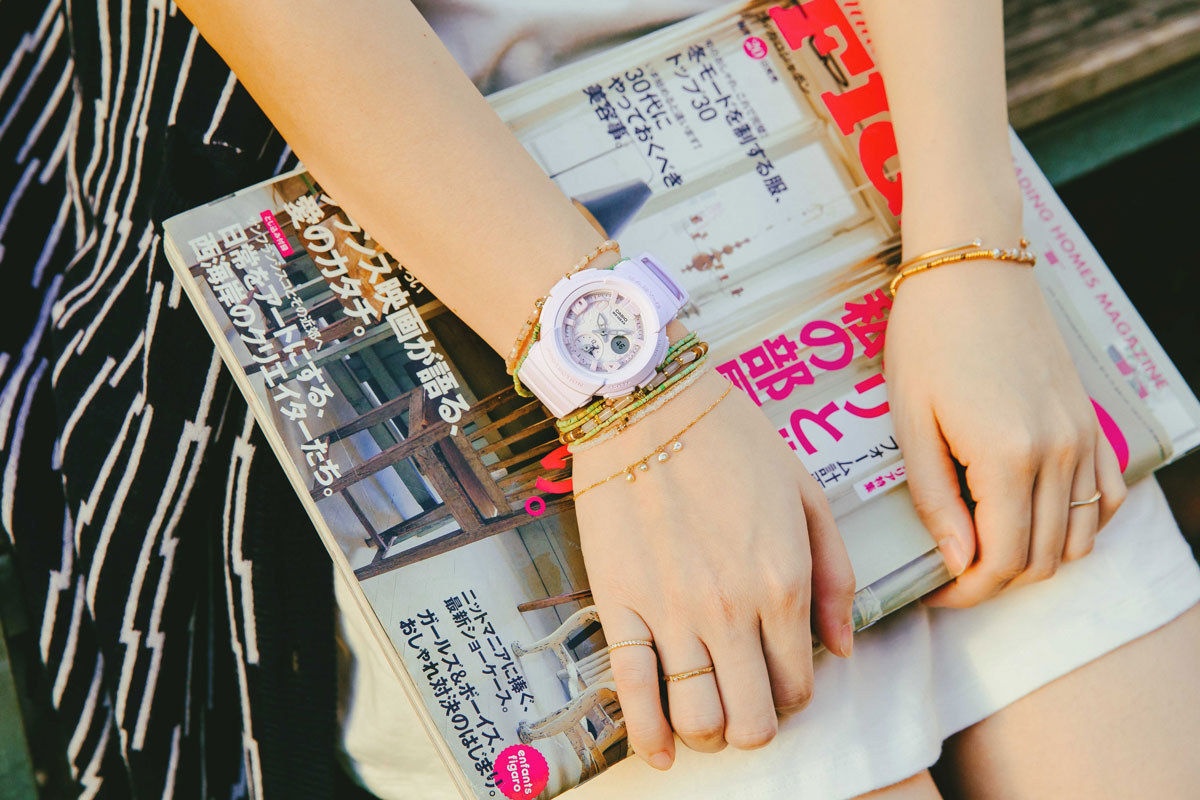 [Live Photos] BABY-G X Accessories – to create a unique personal style outfit easily add layering