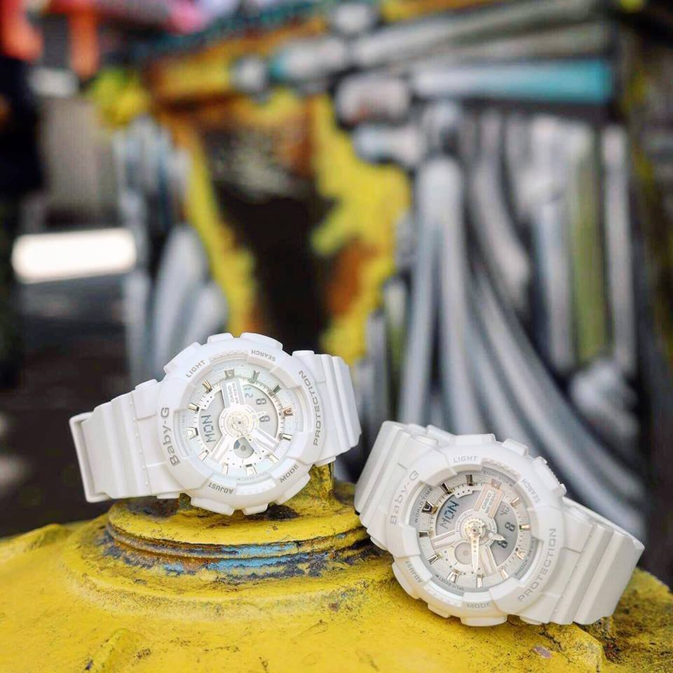 [Live Photos] Baby-G BA-110GA – Light color is in the style right now