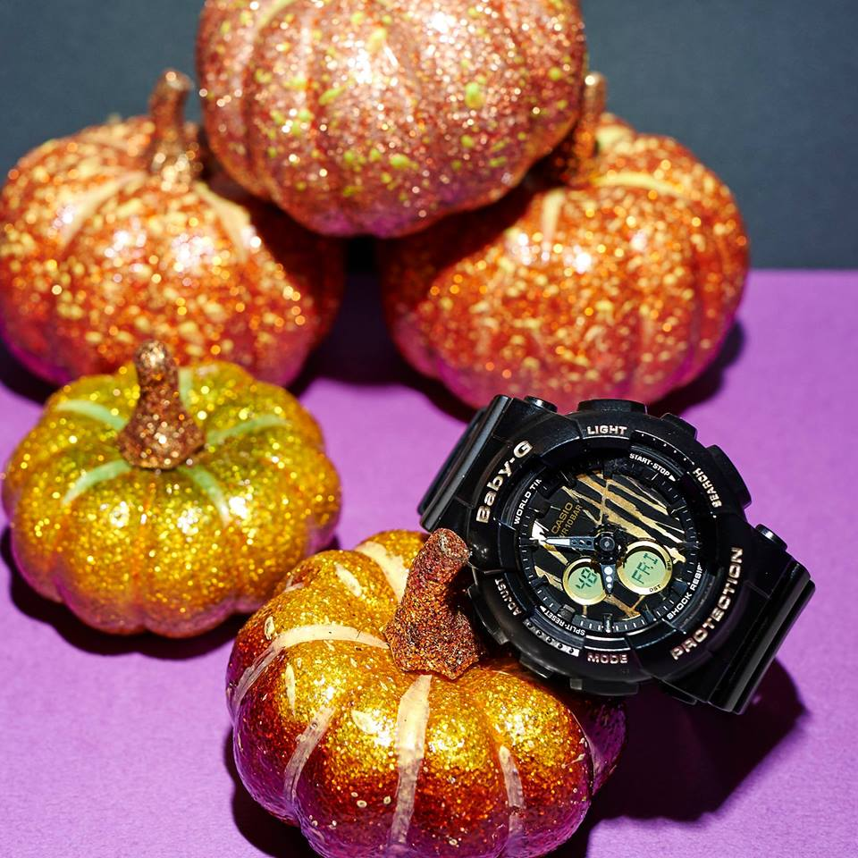 [Live Photos] Baby-G BA-120SP-1AJF – May the magic of Halloween be with you