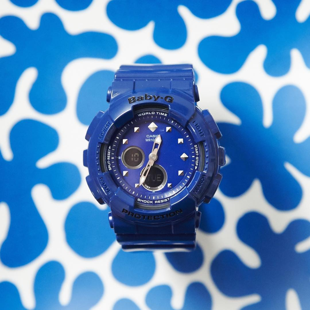 [Live Photos] Baby-G BA-125-2AJF – the most stylish ever