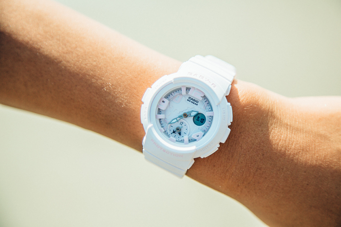 [Live Photos] Baby-G BGA-190BC-4B & SHONAN BEACH YOGA WEEK 2016