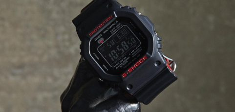 [Live Photos] G-Shock GW-5000HR-1JF Black & Red Series