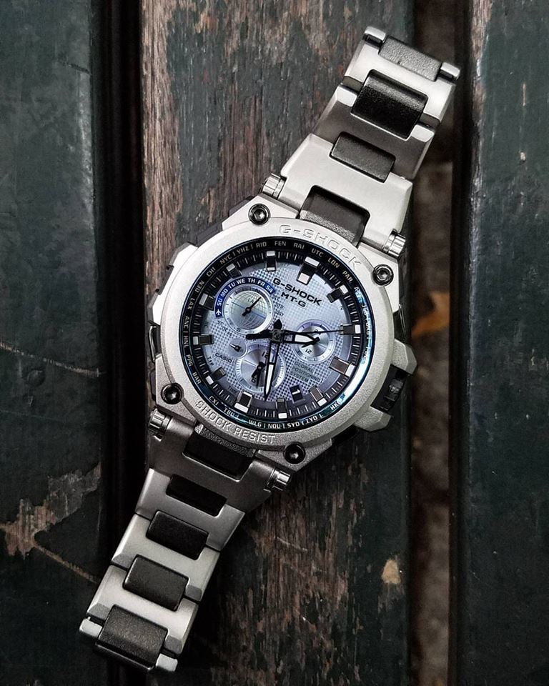 [Live Photos] G-Shock MTG-G1000RS-2A with GPS Control
