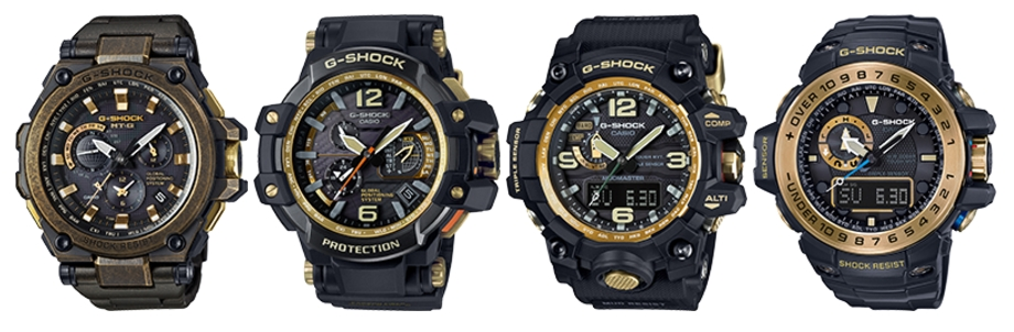 [Official] G-Shock Special Limited Editions And Master Of G Black X Gold Collection