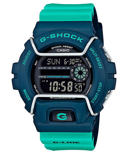 G-Shock GLS-6900 User Manual / Casio Module 3450