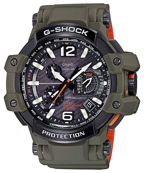 [October 2016] G-Shock GPW-1000KH-3A Master in Olive Drab