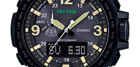 How to set time on ProTrek PRG-600 / Casio 5497
