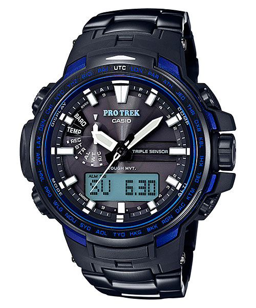 [October 2016] ProTrek PRW-6100YT-1B Blue Moment