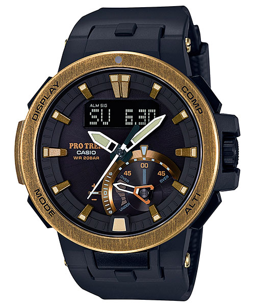 [October 2016] ProTrek PRW-7000V-1 with Gold Ion Plating