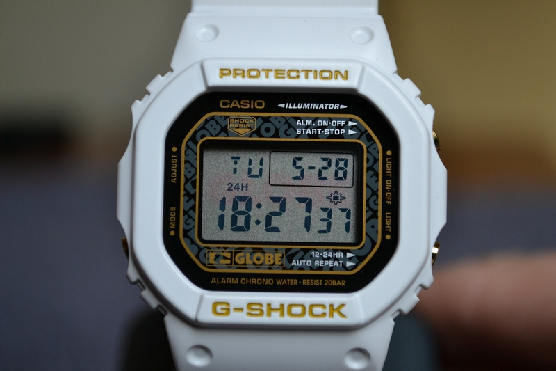 [Limited Series] DW-5600GLB-7 — G-Shock and Globe Collaboration
