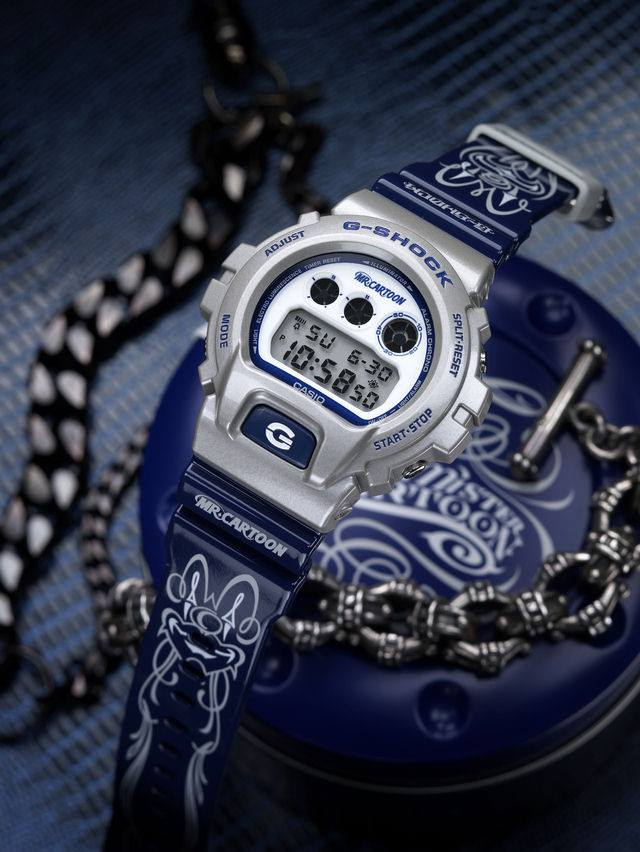 [Limited Series] DW-6900MRC-8 — G-Shock and Mr. Cartoon Collaboration