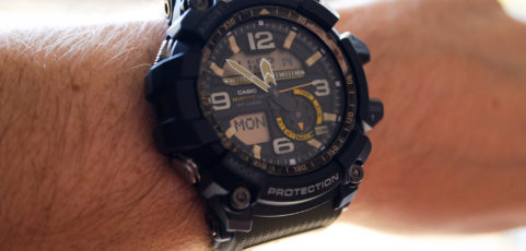[Live Photos] G-Shock Mudmaster GG-1000-1A3 — Survival Design