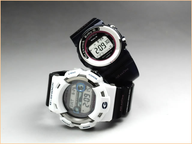 [Limited Series] GW-9110K / BGD-1000K — G-Shock 2010 Eco Whale Dolphin Reseach