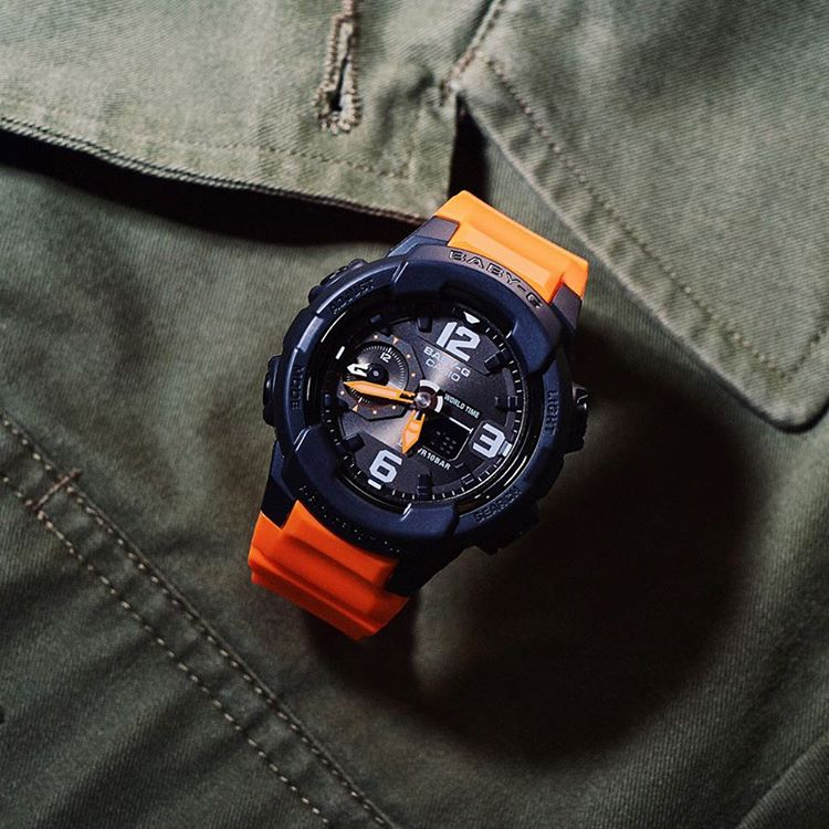 [Live Photos] Baby-G BGA-230-4BJF — A military style that is considered fashionable