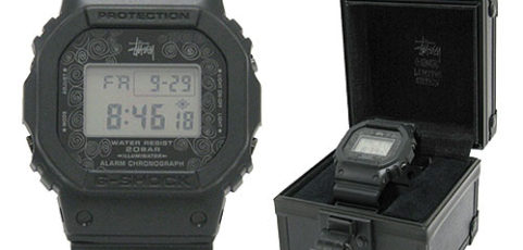[Limited Series] DW-5000 — G-Shock and 3rd Edition x Stussy 25th Anniversary Collaboration