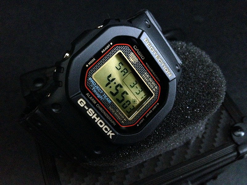 [Limited Series] DW-5025SP-1JF — G-Shock and Project Team 25th Anniversary Collaboration