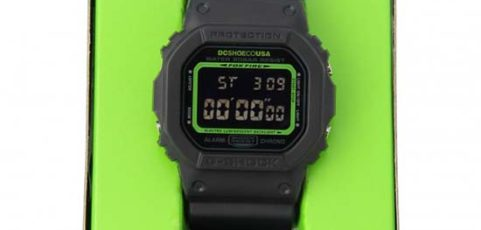 [Limited Series] DW-5600 — G-Shock and DC Shoes Collaboration