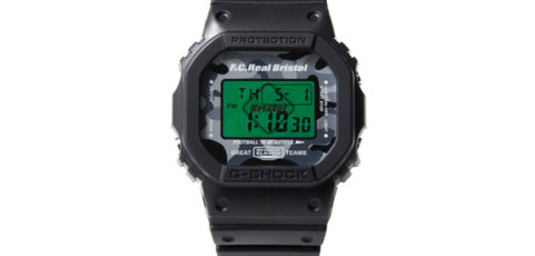 [Limited Series] DW-5600 — G-Shock and F.C.R.B. Collaboration
