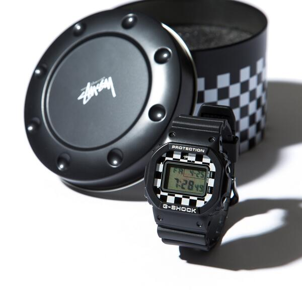 """[Limited Series] DW-5600 — G-Shock and Stussy """"Checker"""" Collaboration"""