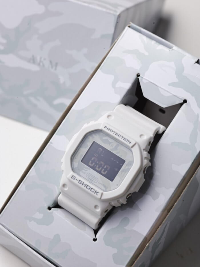 [Limited Series] DW-5600E — G-Shock and AKM 10th Anniversay Collaboration