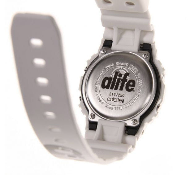 [Limited Series] DW-5600VT — G-Shock and ALIFE x colette Collaboration