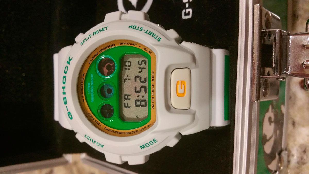 [Limited Series] DW-6900 — G-Shock and LRG Time is Money Collaboration