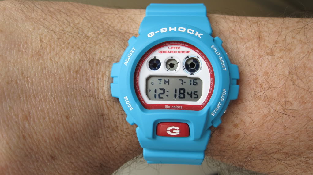 [Limited Series] DW-6900LRG — G-Shock and Lifted Research Group Collaboration