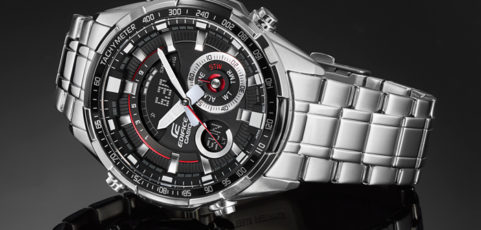 [Promo] Edifice ERA-600D-1AV with 3D disk dial and Thermometer