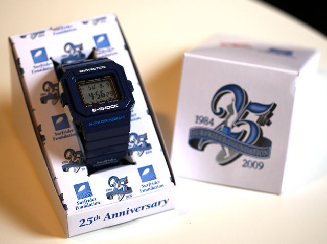 [Limited Series] G-5500 — G-Shock and Surfrider Sneak Peek Collaboration