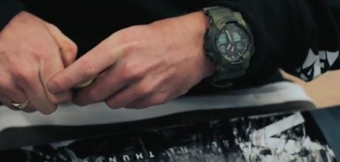 [Video] G-SHOCK & Crepe City 'Camo Marble' GA-100MM