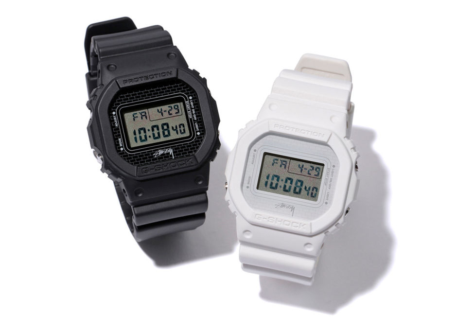 [Limited Series] DW-5600 — G-Shock and Stussy Collaboration