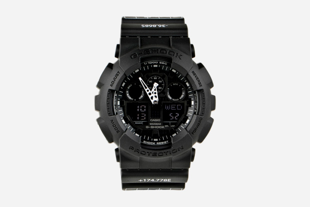 """[Limited Series] GA-100 — G-Shock and """"Beacon"""" x QUBIC STORE Collaboration"""