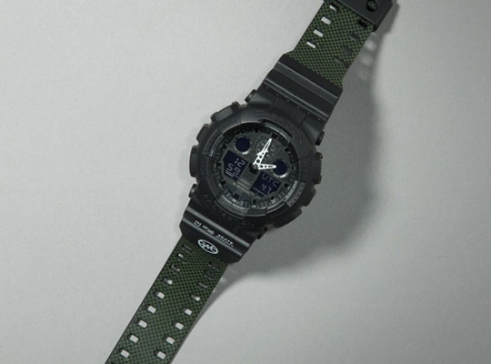 Ga 100 G Shock And Garbstore Collaboration
