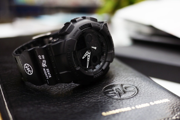 [Limited Series] GA-100 — G-Shock and Garbstore Collaboration