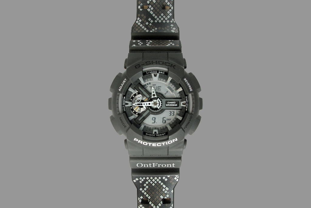 [Limited Series] GA-110C — G-Shock and OntFront Collaboration