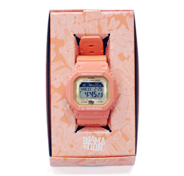 """[Limited Series] GLX-5600  — G-Shock and In4mation """"Salmon"""" Colorway Collaboration"""