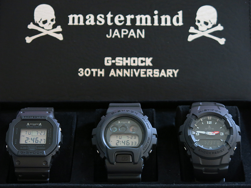 Dw 5600 Dw 6900 And G 100 G Shock And Mastermind Japan 30th