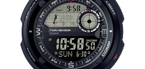 How to set alarm on ProTrek SGW-600 / Casio 3451