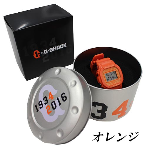 [Limited Series] DW-5600 — G-Shock and Yomiuri Giants Collaboration