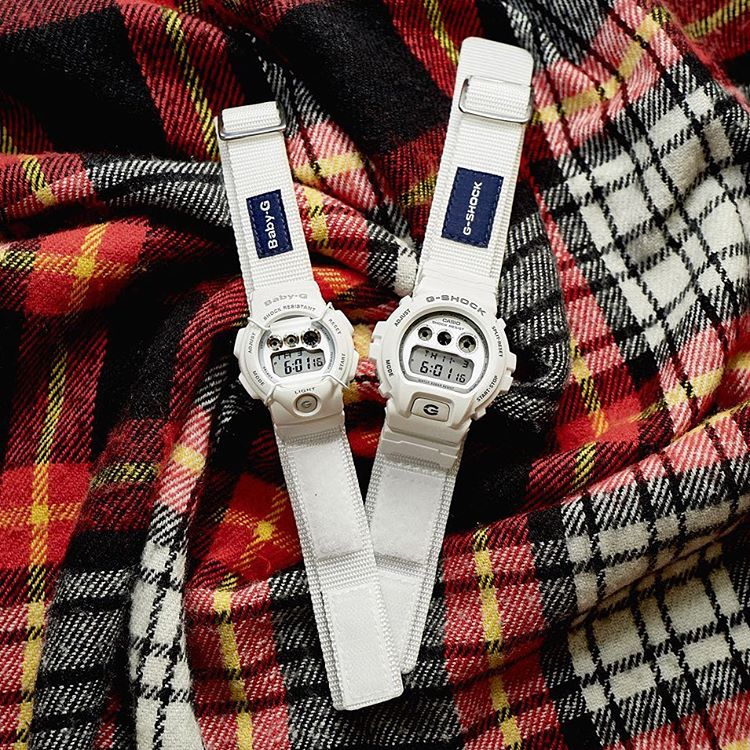 [Live Photos] G-Shock DW-6900LD-7 and Baby-G BG-1005LD-7 Lover's Collection