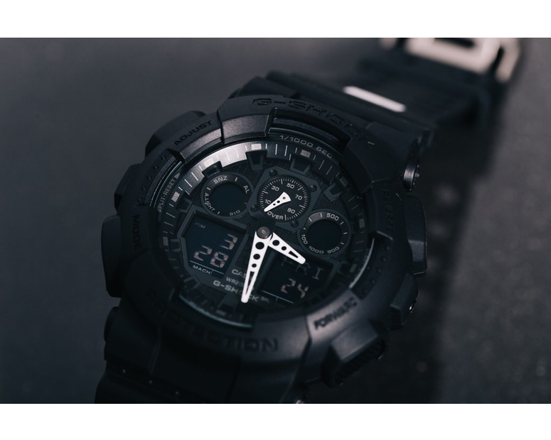 [Live Photos] G-Shock GA-100CK-1A1 x Culture Kings Limited Edition