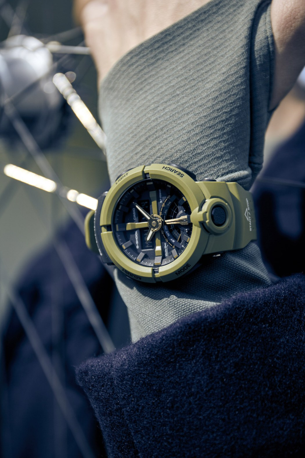 [Live Photos] G-Shock GA-500P-3A for City Sports enthusiasts
