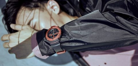 [Live Photos] G-Shock GA-500P-4A for City Sports enthusiasts